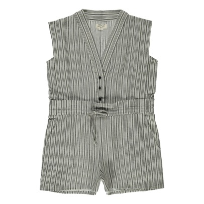Louis Louise Kyoto Striped Playsuit-listing