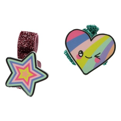 Little Marc Jacobs Star Heart Lurex Hair Bands-listing
