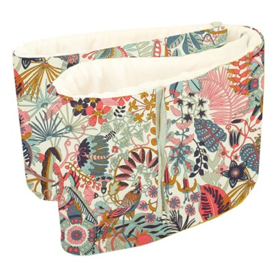 Lab - La Petite Collection Tropical Trails Liberty Cot Bumper 30x180cm-listing