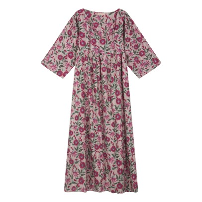 Louise Misha Gaia Floral Lurex Dress - Women's Collection-listing