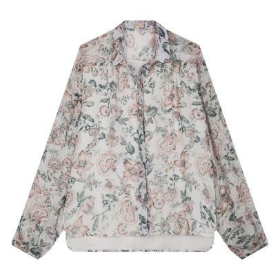 Louise Misha Mimi Floral Silk Blouse - Women's Collection-listing