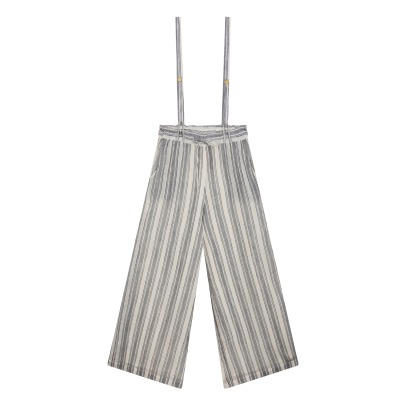 Louise Misha Ixora Stripe Dungarees with Removable Straps - Women's Collection-listing