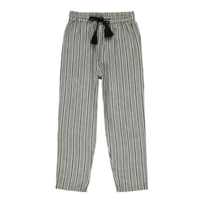 Louis Louise Valentin Striped Trousers-listing