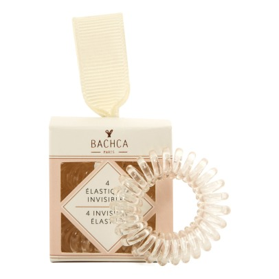 Bachca Ressort Invisible Hair Elastics - Set of 4-listing