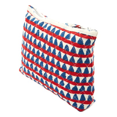 Le Petit Lucas du Tertre Triangles Cotton Toiletry Bag-listing