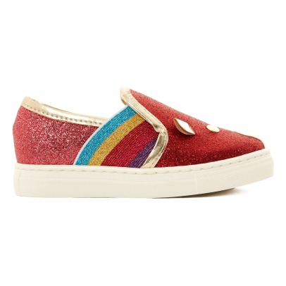 Little Marc Jacobs Slip-on Ratón Paillettes	-listing