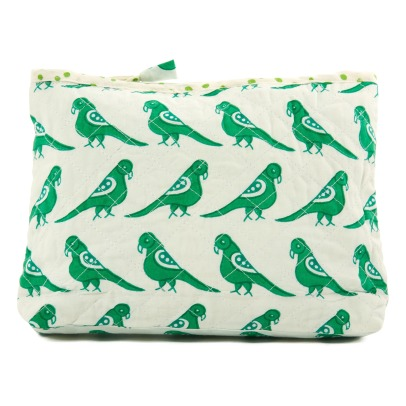 Le Petit Lucas du Tertre Bird Cotton Toiletry Bag-listing