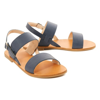 Manuela de Juan  Carmen Calf Leather Sandals-listing