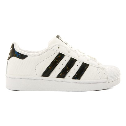 Adidas Baskets Cuir Lacets Superstar-listing
