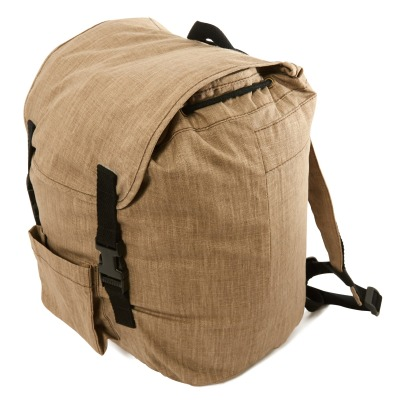 Caramel Milieu Linen Backpack-product