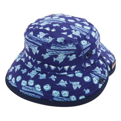 Patagonia Little Sol Fish UV Protective Bucket Hat-listing