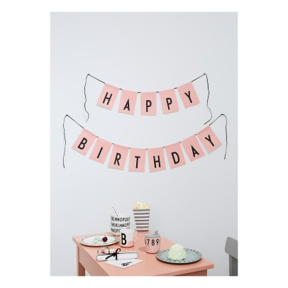 Design Letters Happy Birthday Banner-listing