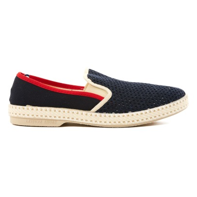 Rivieras Tour Du Monde Perforated Espadrilles-listing