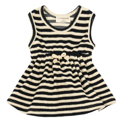 1+ IN THE FAMILY Cindy Striped Sweat Dress-listing
