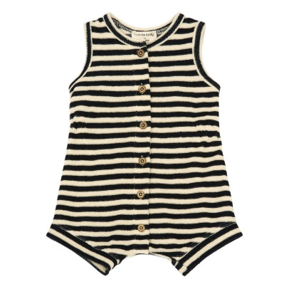1+ IN THE FAMILY Tati Striped Sweat Playsuit-listing