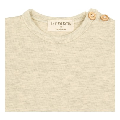 1+ IN THE FAMILY T-shirt con bottoni Saul -listing
