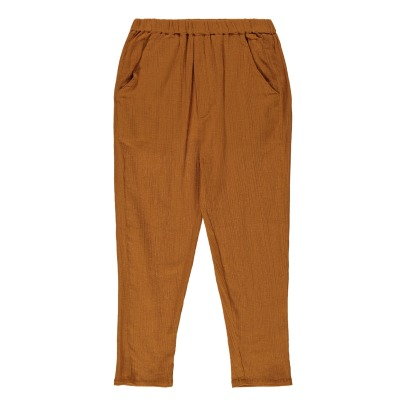 Louis Louise Gazelle Cotton Crepe Trousers-listing