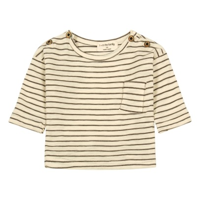 1+ IN THE FAMILY Renoir Striped T-Shirt-listing