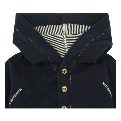 1+ IN THE FAMILY Barcelo Fleece Hooded Jacket-listing