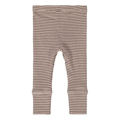 Caramel Zarzar Striped Leggings-listing