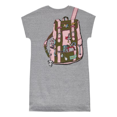 Little Marc Jacobs Backpack Fleece Dress-product