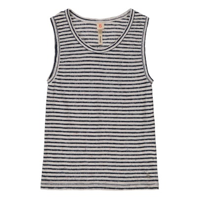 Bellerose Gram81 Striped Vest Top-product