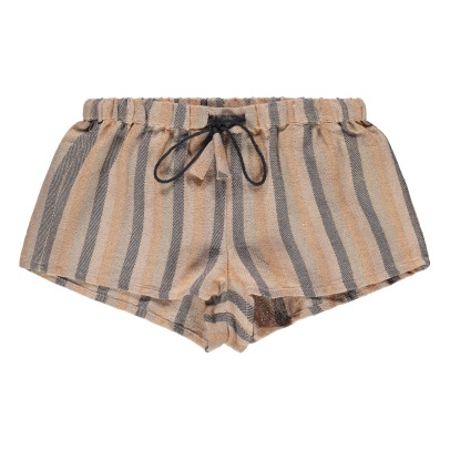 Louis Louise Jeannette Lurex Striped Shorts-listing