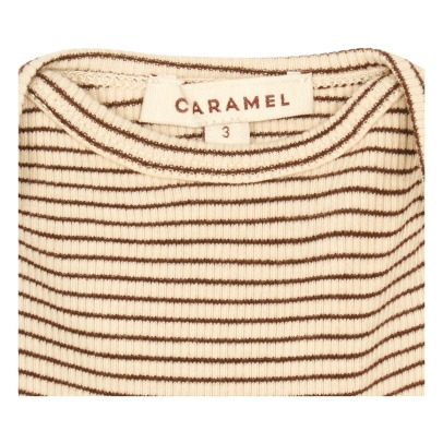 Caramel Vida Striped T-Shirt-listing