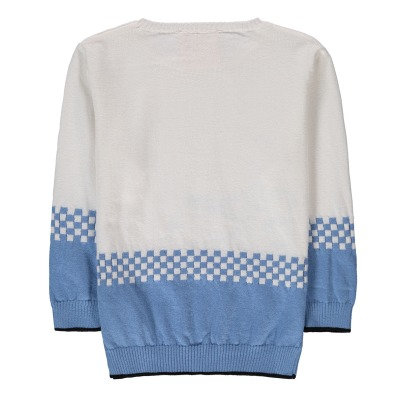 Douuod Pull Bicolore Damier-listing