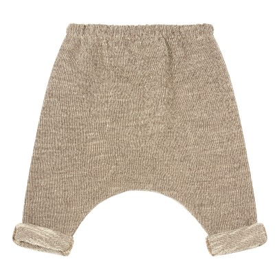 1+ IN THE FAMILY Tristan Boucle Fleece Harem Trousers-listing