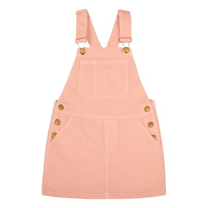 Finger in the nose Cherry Denim Dungaree Dress-listing