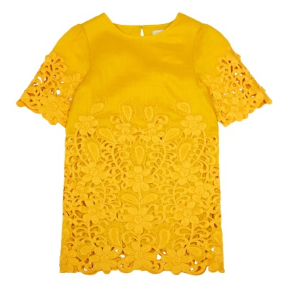 Stella McCartney Kids Vestido Bordado Harper-listing