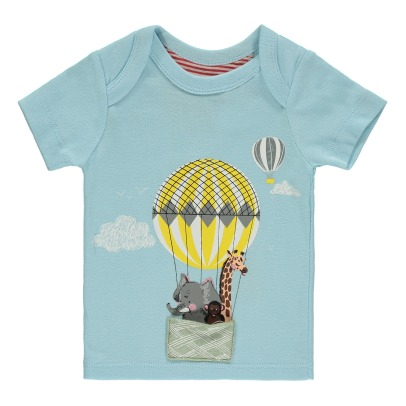 Milk on the Rocks T-Shirt Montgolfière Zoo Teddy-listing