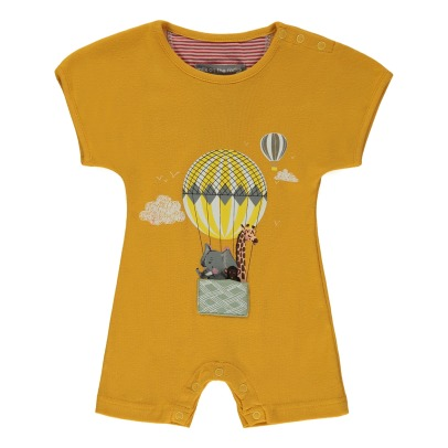 Milk on the Rocks Boston Zoo Hot-Air Balloon Playsuit-listing