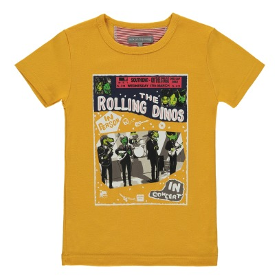 Milk on the Rocks Camiseta Rolling Dinos Tyler-listing