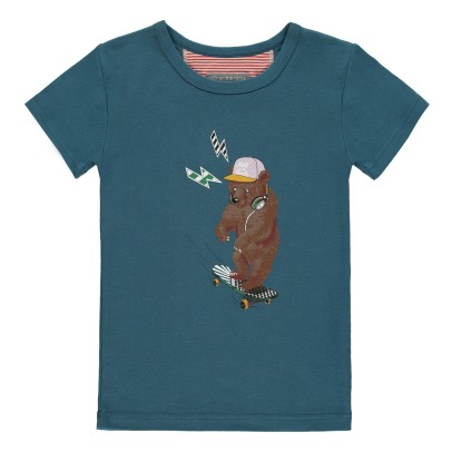 Milk on the Rocks Camiseta Oso Skate Tyler-listing