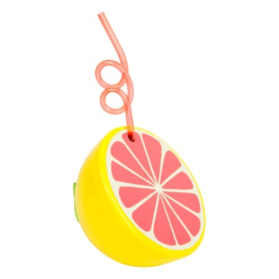 Sunnylife Grapefruit Cup with Straw-listing
