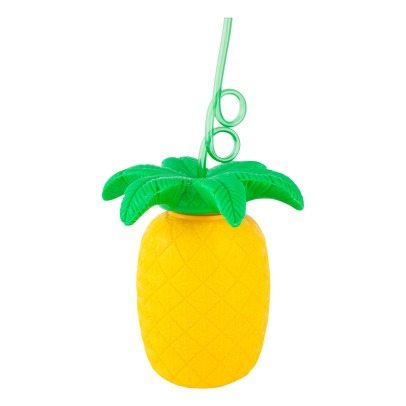 Sunnylife Pineapple Cup with Straw-listing