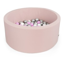 product-Misioo Pink, Silver, White and Transparent Ball Pool