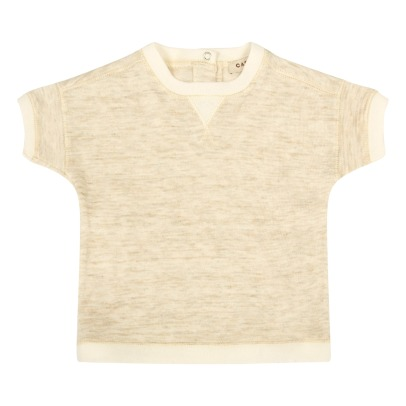 Caramel Kezar Tencel and Cotton T-Shirt-listing
