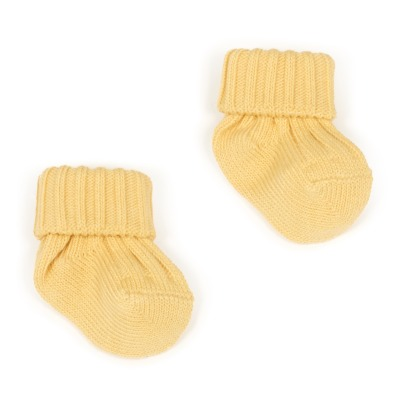 Caramel Ribbed Socks-listing