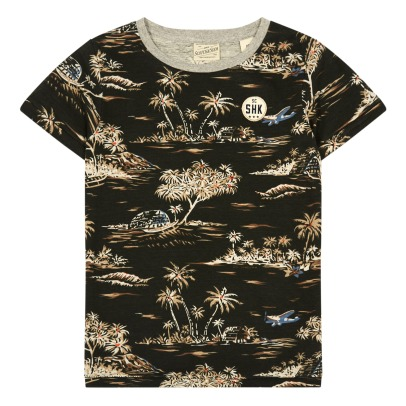 Scotch & Soda Camiseta Palmeras -listing