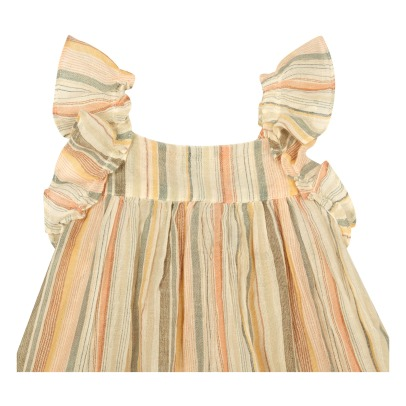 Bonton Lambada Ruffled Stripe Dress-product