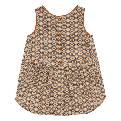 Caramel Barra Retro Playsuit-listing