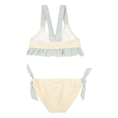 Bonnet à pompon Striped 2 Piece Swimsuit-listing