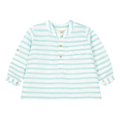 Bonnet à pompon Striped Kurta-listing