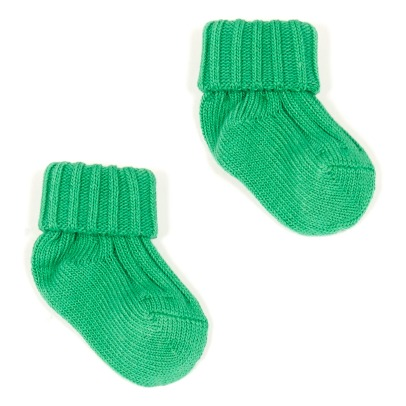 Caramel Ribbed Socks-product