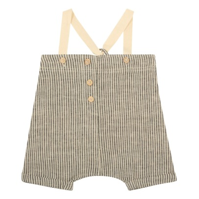 1+ IN THE FAMILY Degas Striped Dungarees-listing