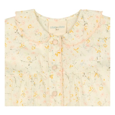 Louis Louise Martine Floral Buttoned Blouse-listing