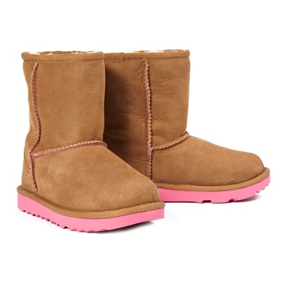 Ugg Classic II Fur Lined Suede Boots-listing